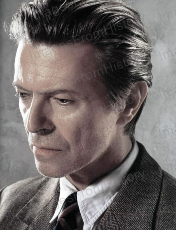 8x10 Print David Bowie Profile Portrait #DB73