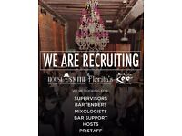 House of Smith, Florita's and Madame Koo's are Hiring