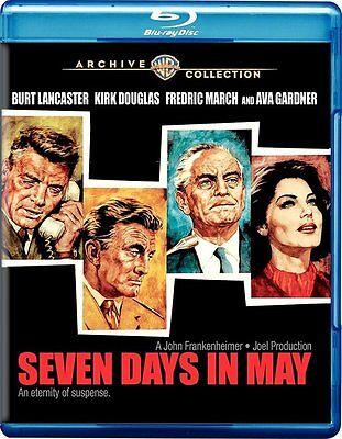 Seven Days in May Blu-Ray (1964) - Burt Lancaster, Kirk Douglas, Fredric (Seven Days In May 1964 Blu Ray)