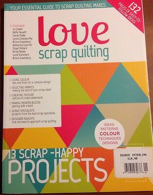Love Scrap Quilting DIY Easy Projects Color Tips & Tricks 2014 FREE SHIPPING! - Diy Easy Projects