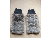 Furry Leg Warmers As Good As New