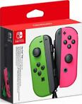 Nintendo Switch Joy-Con Controller Pair (Neon Green/Neon ...