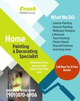NEED PAINTING DONE?? EXPERIENCED INTERIOR/EXTERIOR PAINTING