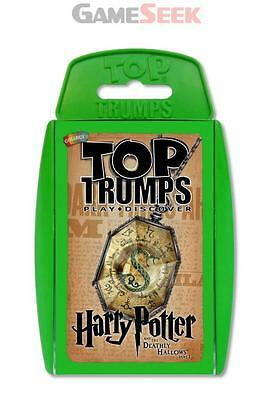 TOP TRUMPS HARRY POTTER AND THE DEATHLY HALLOWS 1 CARDS - TOYS BRAND NEW