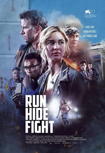 RUN HIDE FIGHT (2020)  Brand New Still Sealed FREE SHIPPING