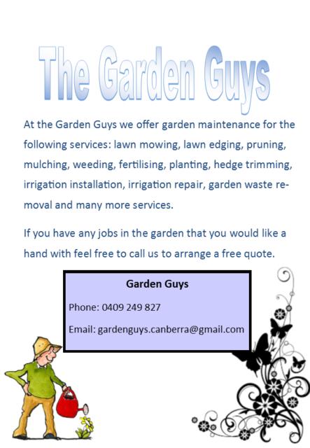 Garden Guys | Landscaping U0026 Gardening | Gumtree Australia South Canberra    Deakin | 1179212482