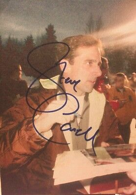 Steve Carell  Signed 5X7 Photo    Sundance    Park City Utah    Rare Photo