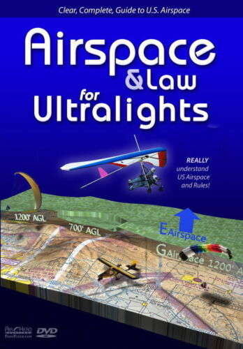 Airspace & Law for Ultralights Powered Paragliding Paramotor DVD Jeff Goin PPG