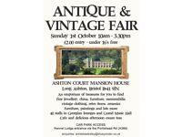 Antique Vintage Collectables Fair