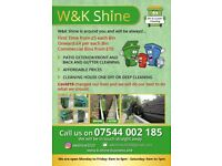 Cleaning ,gutter,Patio, pavements, driveway professional jet wash .