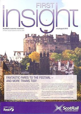 First Bus Scotrail Insight Edinburgh Castle Festival 2010 Oban direct Red Arrows