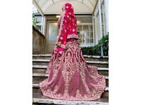 ** Indian Red Wedding Dress **