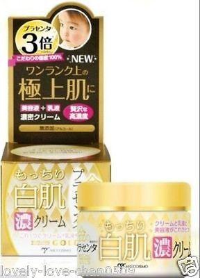 MICCOSMO White Label gold placenta mocchiri shirohada cream 60g