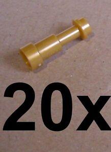 LEGO-20x-Telescopio-en-perla-oro-Prismaticos-64644-NUEVO