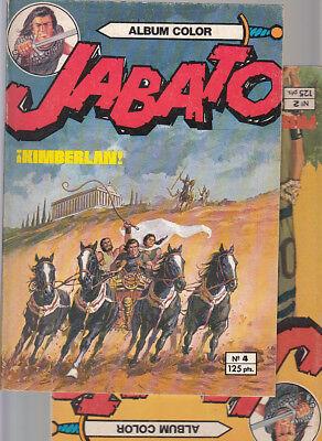 EL JABATO  Nºs  2. 4.   ALBUM COLOR  ( LOTE 2 NUMEROS ) BRUGUERA. segunda mano  Bruguers