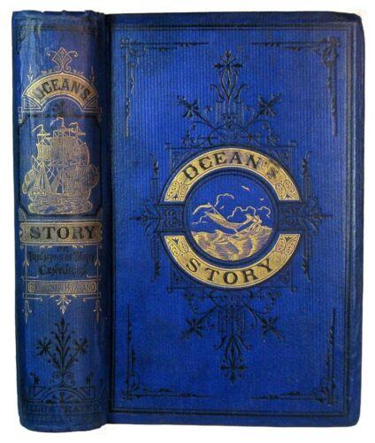 1875 SEA HISTORY MARITIME OCEAN NAVIGATION SHIPWRECK PIRATE SAILOR NAUTICAL OLD