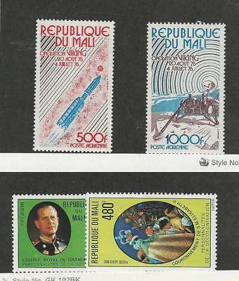 Mali, Postage Stamp, #C293-C294, C296, C300 Mint NH, 1976-77 Space