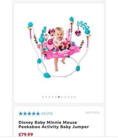 Minnie Mouse jumperoo