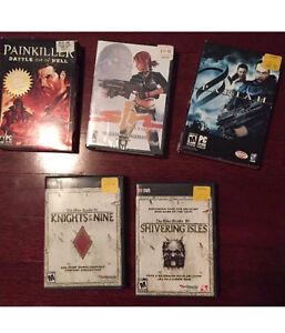 VINTAGE PC GAMES LOT FPS SHOOTERS! NEW