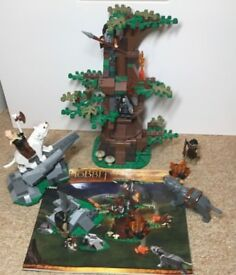 Lego Hobbit - Attack of the Wargs-79002