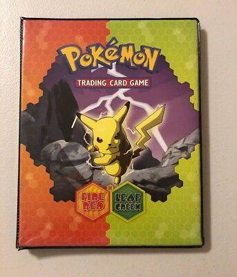 2004 EX Fire Red Leaf Green Pokémon Card Binder - Pikachu / Charizard