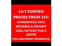 24/7 BREAKDOWN & RECOVERY, SCRAP & NON RUNNERS PURCHASED, GREAT PRICES! LONDON,ESSEX,HERTS