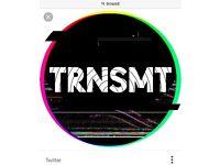TRNSMT Sat 8th July ticket- printed £59