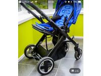 Oyster Pram and Maxi Cosi Car Seat