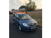 Vauxhall Zafira Exclusiv 08. Very good mechanical condition and long mot.