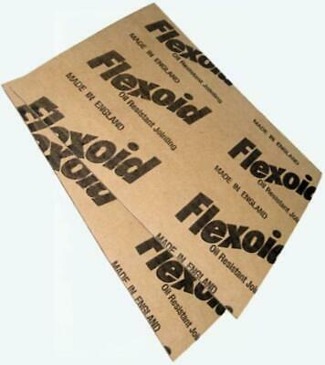 2x GASKET PAPER SHEET 0.8mm+0.4mm-25cm x 25cm Genuine Flexoid for LTI / LDV
