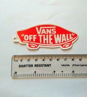 Vans Skateboard Sticker - Off The Wall - skate sk8 surf skateboarding bmx