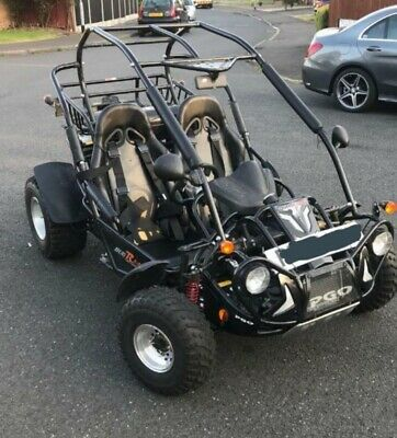 PGO BUGRIDER   250CC QUADZILLA ROAD LEGAL BUGGY