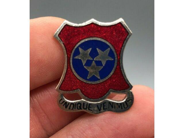 US Army 71st AAA Battalion (MSL) DUI AHD PB DI Pin Badge Unit Crest C843