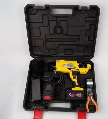 Automatic Handheld Rebar Tier Tool Tebar Tying Machine 8-34mm