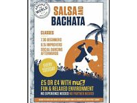 SALSA AND BACHATA CLASS IN CARDIFF EVERY TUESDAY