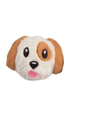 NEW! fabdog DOG EMOJI FABALL TOY MEDIUM