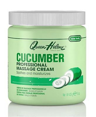 QUEEN HELENE Professional Massage Cream, Cucumber, 15 oz