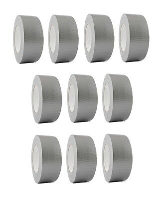 10 Rolls Silver Duct Tape 2 X 60 Yd Utility Grade Duct Tape Free Shipping