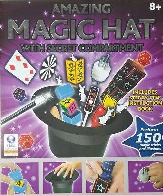 Amazing Magic Hat Trick Set for Kids Brilliant Illusions Mastered in Minutes