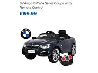 BMW 4 series Coupe with remote control