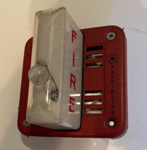Harrington / Faraday 6227HS-W HORN Strobe. Tested!