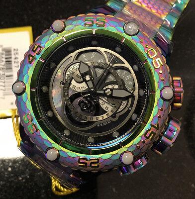 Invicta Subaqua Noma VI 6 Master Calander Chronograph Iridescent Bracelet 25427