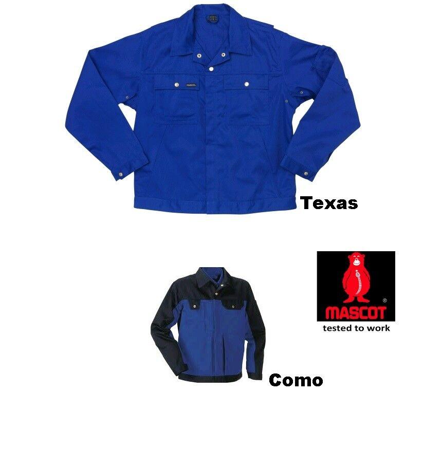 ">>SALE<< Mascot Arbeitsjacken ""Texas"" ""Como"" kornblau - marine Gr. 46,48,52,56"