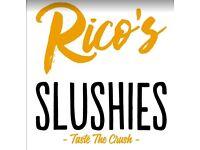 🥤| Slush Machine Hire |Rico's Slush Services |Slushies|Slush Puppie| Slush Puppy | Slush Rental |🥤