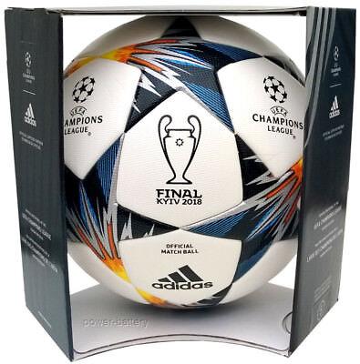ADIDAS FINAL KIEV 2018 UEFA CHAMPIONS LEAGUE MATCH BALL AUTHENTIC + BOX 67a439f1231d9
