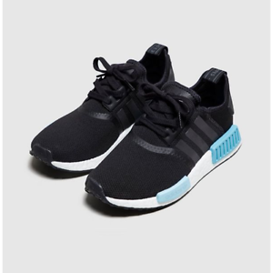 BRAND NEW WOMENS NMD R1 ULTRA BOOST BLACK BLUE ADIDAS UK 4.5 US 6 Adelaide CBD Adelaide City Preview