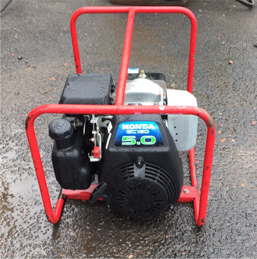 Clarke power generator Honda 5hp engine