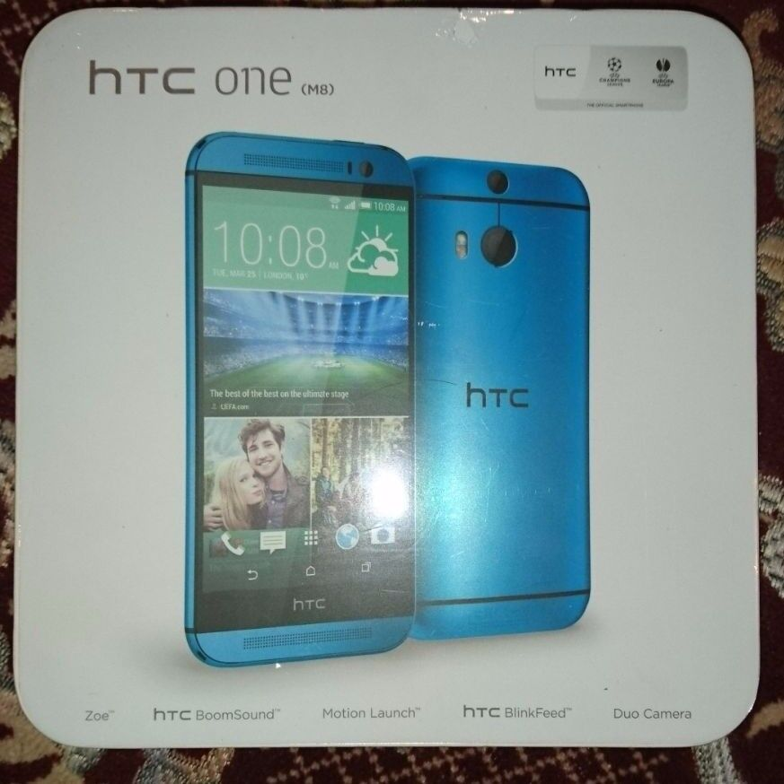 HTC One M7 - 32GB - Blue (Unlocked) Smartphone 4G New SEAL PACK