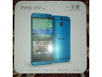 NEW Unlocked HTC ONE (M7) 32GB Quad-Core 4.7 Inches Android Smart Phone - Blu