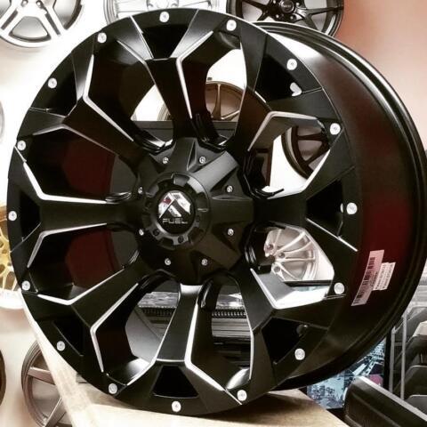Fuel Assault Vapor 20 Inch Wheels for Ford F150 Chevy Silverado 20x9 6x135 6x139 (4New) @Zracing ...